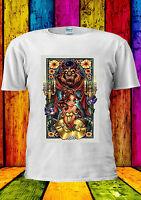 Disney Beauty And The Beast Bella T-shirt Vest Tank Top Men Women Unisex 2190