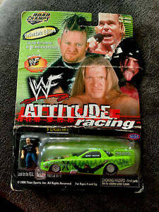 "JERRY TOLIVER WWF ATTITUDE RACING ""D-GENERATION X"" 1/64 NHRA F/C W/FIGURINE"