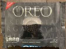 NEW NABISCO OREO LIMITED EDITION GAME OF THRONES COOKIES 15.25 OZ PACK RARE HTF