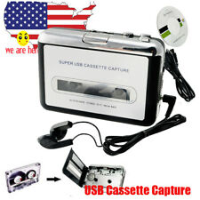 Portable USB Cassette Tape to MP3 CD Converter Capture Audio Music Player Stereo