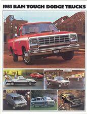 1983 Dodge FL Truck Brochure Pickups/Rampage/Ram 50+++