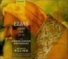 Mendelssohn: Elias by Wolfgang Schöne (CD, Jul-1995, 2 Discs, Haenssler)