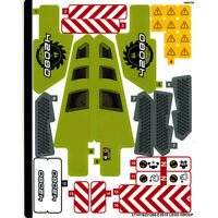 LEGO TECHNIC HOT ROD  ~  Replacement STICKER SHEET for Set # 42022   *** NEW ***