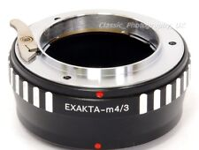 Exakta & EXA macchina fotografica a baionetta Mount Per Fujifilm X-T20 LUMIX G85 Adattatore Micro 4/3