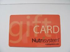 Nutrisystem Gift Card, weight, food, home, dietary, supplements,