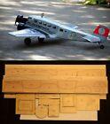 "85""wingspan JUNKERS JU52-3M R/c Plane short kit-partial kit & plans, PLEASE READ"
