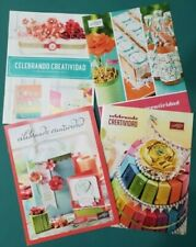 Stampin Up Lot of 4 Celebrando Creatividad Catalog Idea Books for rubber stamps