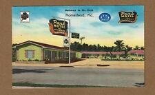 Homestead,Fl Florida Park Motel, Gateway to the Keys U.S.1 and Route 27