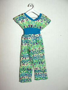 Barbie Doll Best Buy Fashion Jumpsuit #9618 Blue Green Vintage Mattel 1977