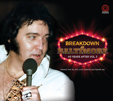 ELVIS PRESLEY - BREAKDOWN IN BALTIMORE  -  Straight Arrow label
