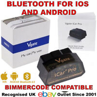 Vgate iCar 4.0 BLE 4 Diagnostic Dongle for iPhone iPad Android Bimmercode UK Co