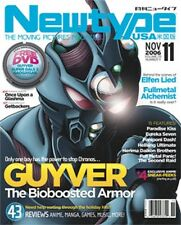 Newtype Magazine Comic Manga Anime November 2006 Vol 5 No11 Guyver, Glashma