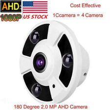 Us stock 2.0Mp Hd 1080P Ahd camera 360 Degree Fisheye Panoramic Ir Night View