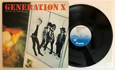 Generation X - Valley Of The Dolls - 1979 Album (Nm) Ultrasonic Clean