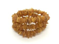 Lot 3 Natural Baltic Amber Raw rough unpolished healing bracelet 32 gr #2943