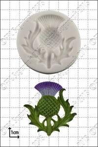 Silicone mould Scottish thistle | Food Use FPC Sugarcraft FREE UK P&P!