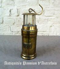 B2017813 - Lampe de mineur en métal - Copie pour déco - Très bon état