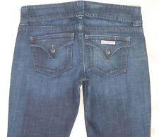 Hudson Jeans Womens Signature Bootcut w Tri Flap Pockets Dark Blue Sz 28