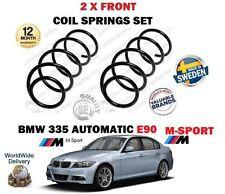 FÜR BMW 335i E90 M SPORT AUTOMAT 306BHP 2006-2011 2X VORDERE SPIRALFEDERN SET
