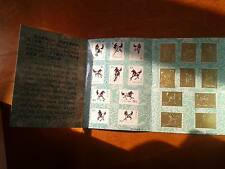 China Galloping Horse 10 Values of Gold Stamp In An Original Pack- Unusual