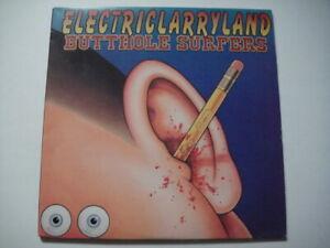Butthole Surfers - Electriclarryland 2xLP Plain Rec - plain205 USA 2016 Etched