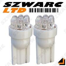 2x 501 T10 W5W 194 CAR 6 LED SUPER WHITE XENON WEDGE SIDE LIGHT BULBS 12v HID UK