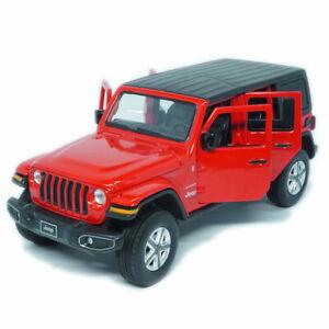 1:32 Jeep Wrangler Sahara ORV Model Car Diecast Toy Vehicle Collection