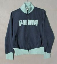 Puma Jacket,Coat Blue & Mint  Full Zip Women's Track Large Inv#Z9019