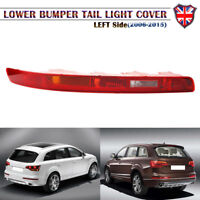 Left Side Car Lower Reflector Rear Tail Bumper Light Lamp Red For Audi Q7 06-15
