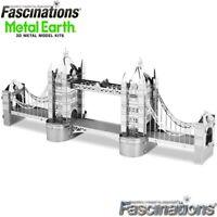 Metal Earth London Tower Bridge 3D Laser Cut DIY Model Hobby Building Kit