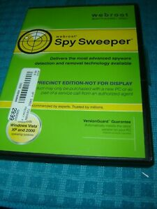 Spy Sweeper by Webroot for Windows Vista/XP/2000