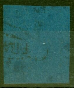 Natal 1859 1d Blue SG1 Ave Used Genuine Example