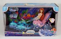 The Little Mermaind Ariel Shimmering Lights Dolphin Chariot