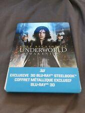 UNDERWORLD AWAKENING3D + Blu-Ray GLOSSY STEELBOOK  Canadian import