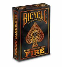 Bicycle Fire Series Playing Cards