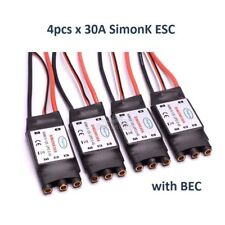 4pcs 30A SimonK ESC + BEC  For RC Quadcotper Helicopter