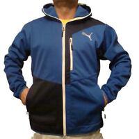 Puma Urban Softshell Jacket, Mens, Blue, 560839 02, Sizes, S, L, XL, XXL