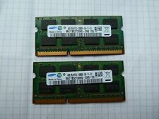 Memoria Ram notebook 8GB 2x 4GB DDR3 PC3-10600 no kingston corsair ocz samsung