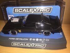 SCALEXTRIC ford x8 falcon mad max  black ref c3697 rare l@@k