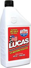 LUCAS SYNTHETIC HIGH PERFORMANCE 4T OIL W/MOLY 10W-40  32OZ 10777