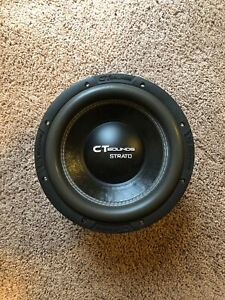 CT Sounds Strato 10 Inch Subwoofer