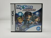 My Sims Agents (Nintendo DS, 2009) Complete CIB Authentic