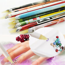 Pick Up Pen Wax Resin Rhinestones Picker Pencil Crafts Nail Art Long Size DIY JT
