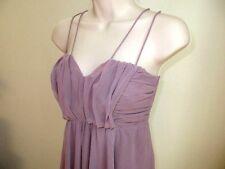 American Rag Dress Mauve Sundress Sheer Lined Size XS  NWOT #K37