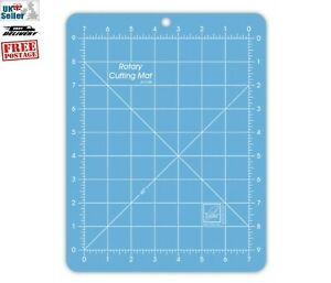 June Tailor Blue Rotary Cutting Mat. Inch Measurements. 7x9 Board Superior Mat