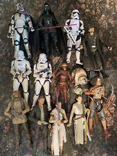 Star Wars Black Series HUGE Lot 6 inch Thirteen Figures