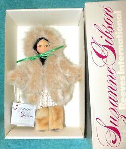"Suzanne Gibson Reeves International Alaska 9"" doll 1985 #5011 MIB"