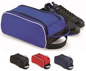 RED ROYAL NAVY BLUE or BLACK Teamwear Shoe Football Boot Bag Holdall