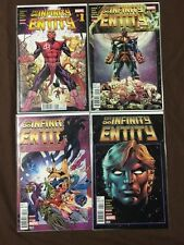 COMIC - THE INFINITY ENTITY 2016 - #1 #2 #3 #4 COMPLETE 1st PRINT VF NEW/NUEVO