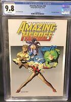 Rare CGC 9.8 Amazing Heroes 35 2nd Black Costume B4 ASM 252 MTU 141 SW 8